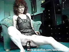 Extreme amateur fucks a whiskey bottle and cucumbers Amateur and Masturbation Videos
