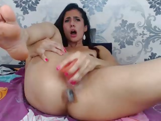 Hot show on webcam by sexy latina (AR)