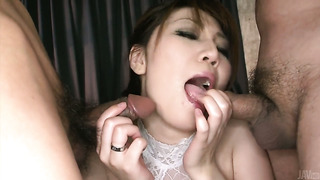 Asian milf in lingerie Yuria Kano