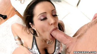 Blow job from a hot milf