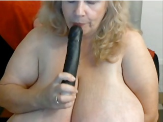 Old bbw enormous tits