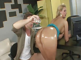Big Ass at the office
