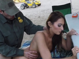 Fake cop orgasm xxx Brunette gets pulled over for a cavity s