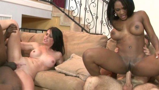 interracial swingers 04, scene 03 - Interracial porn