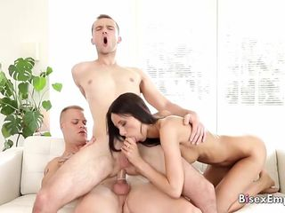 Bisexual orgy foot fetish by BisexEmpire