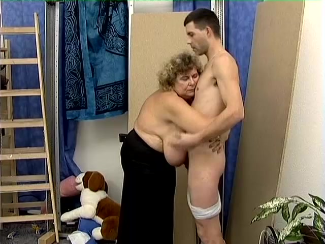 How About Fucking A Horny Granny In Lingerie?