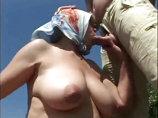 Granny and young man - 35