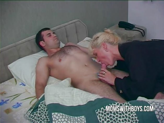 Hot Horny Mama Wakes StepSon With A Blowjob | PornTube ®