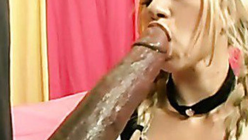 Melanie Jayne on pigtails packed her mouth with monster cock - Big Cocks porn