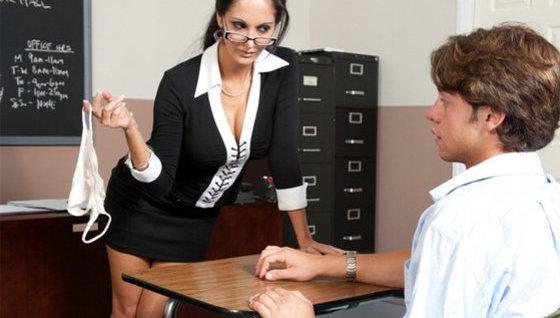 One of the professor's students - Teachers porn