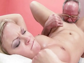 Grandpas and Teens Compilation with rough sex