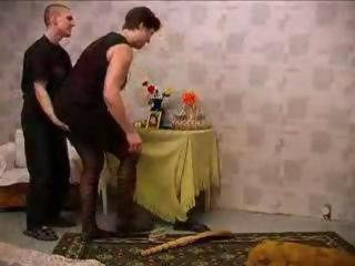 Pervert boyfriend wants cleaning woman