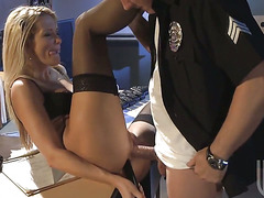 Jessica drake cant stop touching her muff
