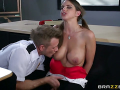 Brooklyn Chase makes her anal fantasies a
