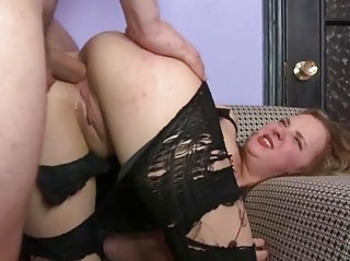 Ass is pounded on cam