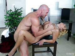 Alyssa Lynn swirls the tongue around