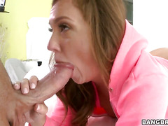 Maddy OReilly does her best to