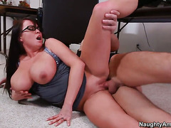 Alec Knight whips out his schlong to fuck Brandy Talore