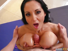 Ava Addams with giant melons finds her