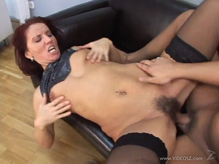 Sexy MILF Gets Her Hairy Wet Pussy Hardcore Fucked