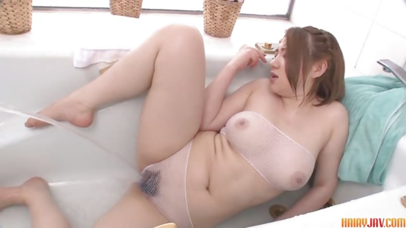 Busty Alice Ozawa vibrates her fat asian pussy | PornTube ®