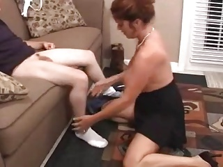Son Says NOT his Mom Can't Suck A Cock