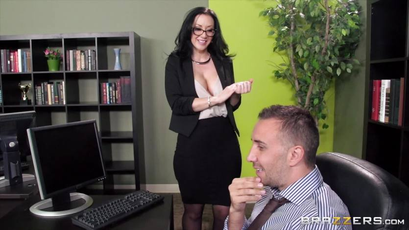Secretary Jayden Jaymes is punished for her mistake | PornTube ®