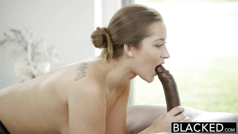 BLACKED Dani Daniels FIRST Interracial | PornTube ®