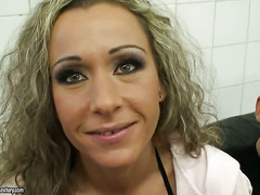 Angie Angel plays with herself on cam