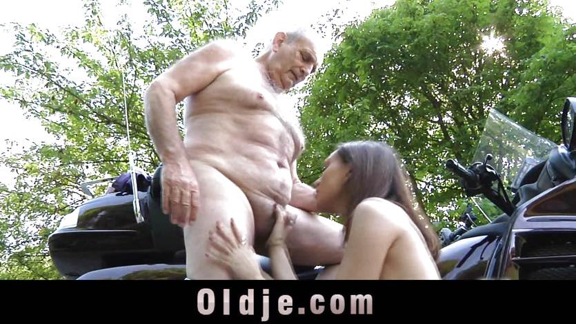порно фото старики с моло