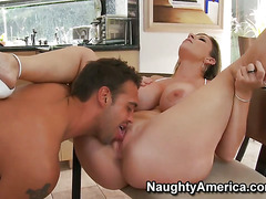 Sara Jay enjoys some loving in