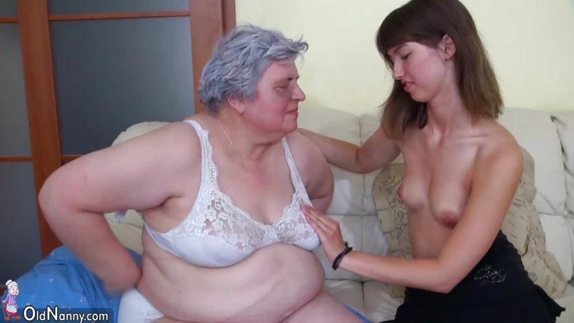 OldNanny Big fat Granny with a cute girl | PornTube ®