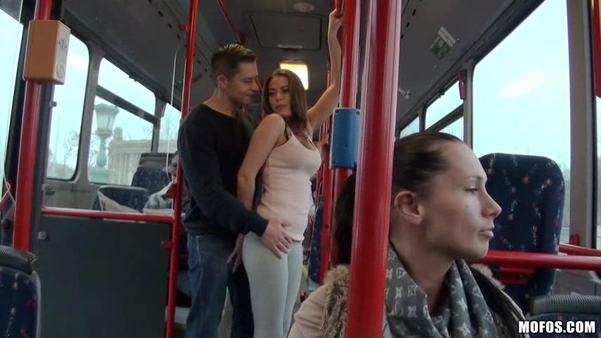 Hardcore Public Sex In The Public Buss With Bonnie