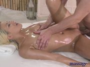 Massage Rooms - Blonde with plump bum