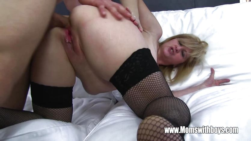 Mature Maid Fucks Boy On Sofa With Porn | PornTube ®
