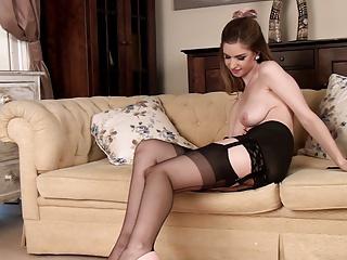 Stella cox falda de cuero