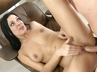 Marvelous darling is getting her twat ravished