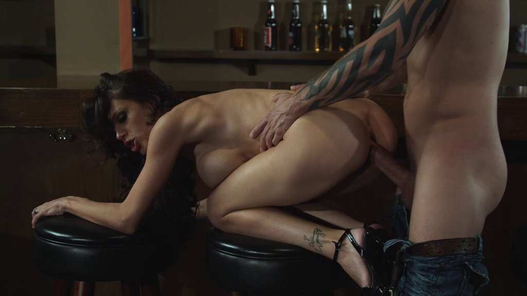 Tattooed MILF In High Heels Ecstatic As She Gets Shagged Doggystyle