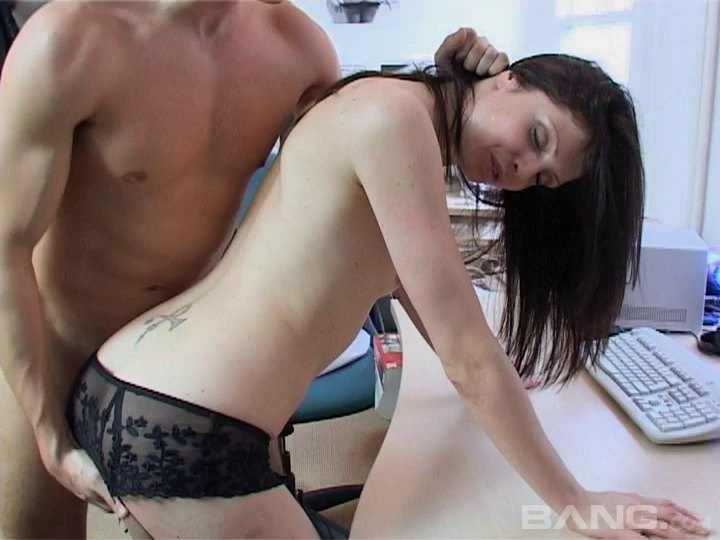 She Blows Her Boss And Gets Fucked On A Desk In The Office