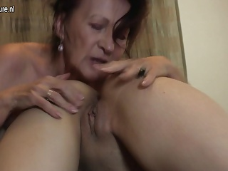 Grandma go hard with young lesbo girl