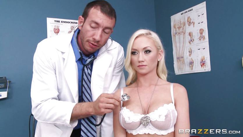 Madison Scott is perfectly cured by her dirty doctor | PornTube ®