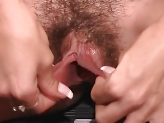 Huge Hairy Pussy Lips