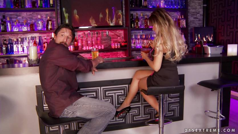 Saucy Capri Cavanni at the bar | PornTube ®
