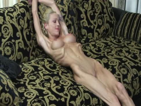 Skinny muscular woman 7