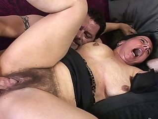 Mature Gal Enjoys Getting Her Hairy Pussy Fucked