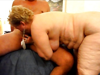 Granny BBW Mature Big Ass Butt Amateur Blowjob POV