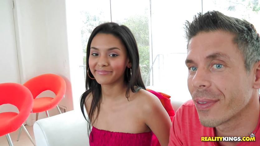 Mick brings home the cutest Latina babe Josie Jagger | PornTube ®