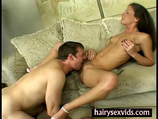 Hot MILF hairy pussy gets oral - Hardsextube