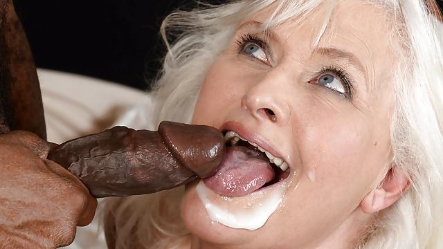 Granny Loves Black Dick