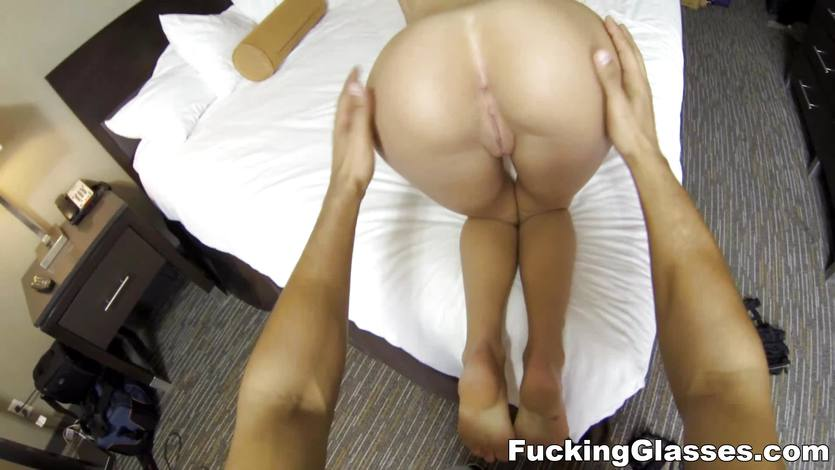 Fucking Glasses - Her pussy is a magic place | PornTube ®